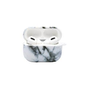 Θήκη Airpods Pro Black-White Marble