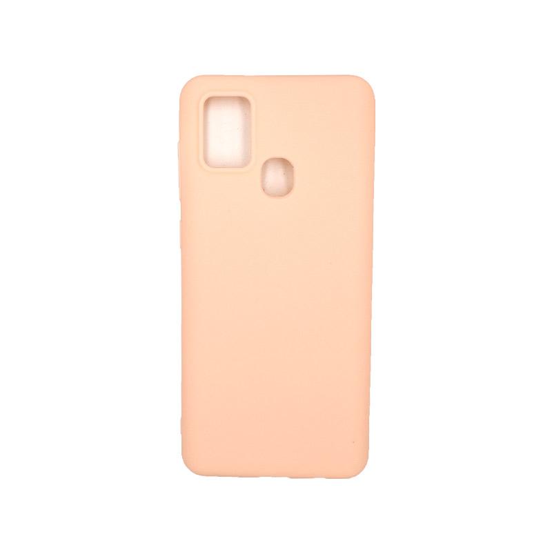 Θήκη Samsung Galaxy A21s Σιλικόνη – Μπεζ