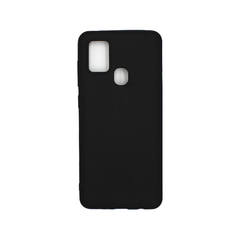 Θήκη Samsung Galaxy A21s Σιλικόνη – Μαύρο