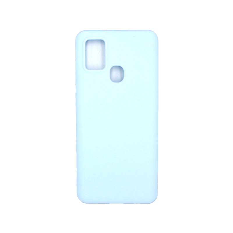 Θήκη Samsung Galaxy A21s Σιλικόνη – Λιλά
