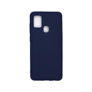 Θήκη Samsung Galaxy A21s Σιλικόνη – Σκούρο Μπλε