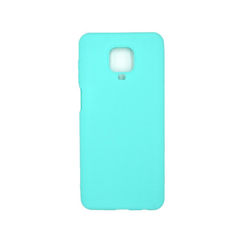 Θήκη Xiaomi Redmi Note 9S / Note 9 Pro / Note 9 Pro Max Σιλικόνη - Γαλάζιο