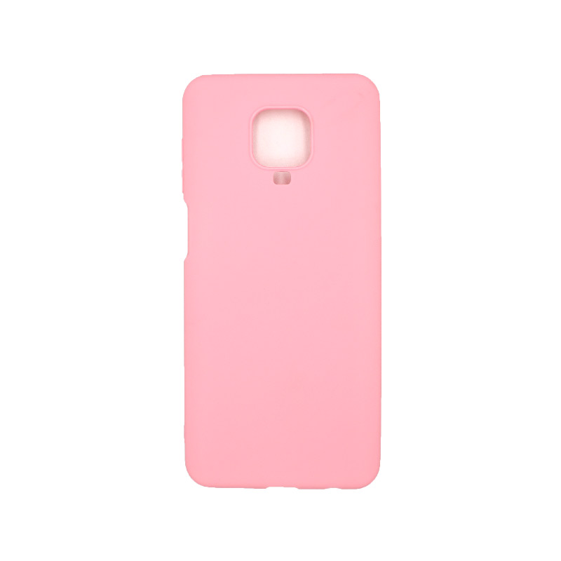 Θήκη Xiaomi Redmi Note 9S / Note 9 Pro / Note 9 Pro Max Σιλικόνη – Ροζ