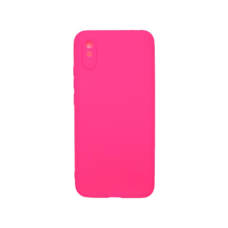 Θήκη Xiaomi Redmi 9A Σιλικόνη – Φούξια