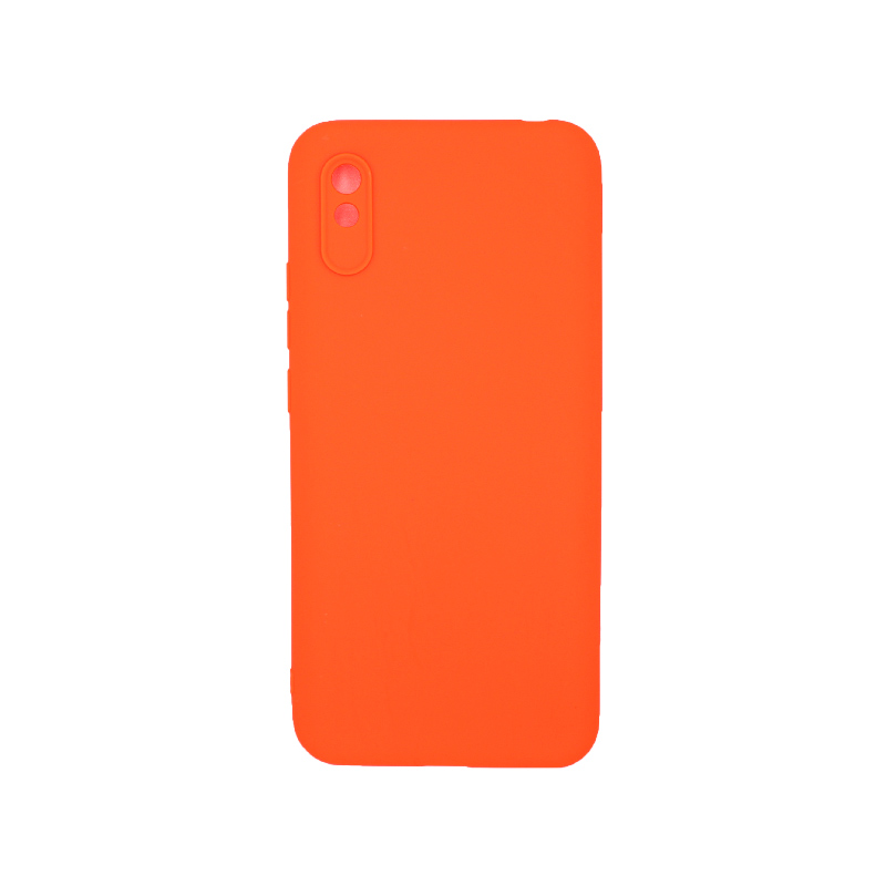 Θήκη Xiaomi Redmi 9A Σιλικόνη – Πορτοκαλί