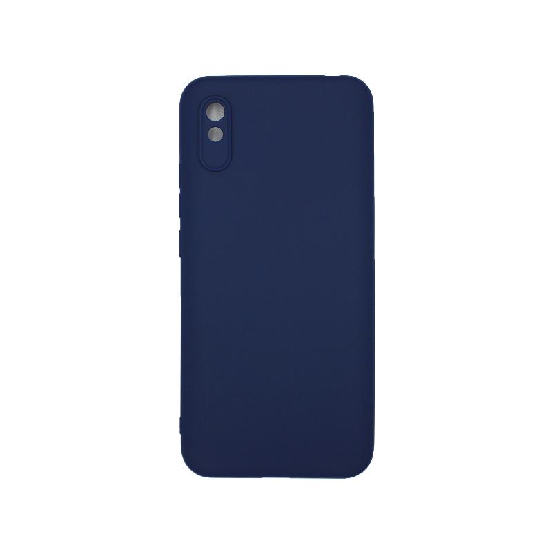 Θήκη Xiaomi Redmi 9A Σιλικόνη - Σκούρο Μπλε