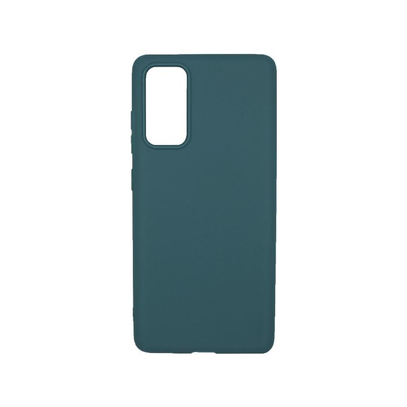 Θήκη Samsung Galaxy S20 FE Σιλικόνη - Πετρόλ