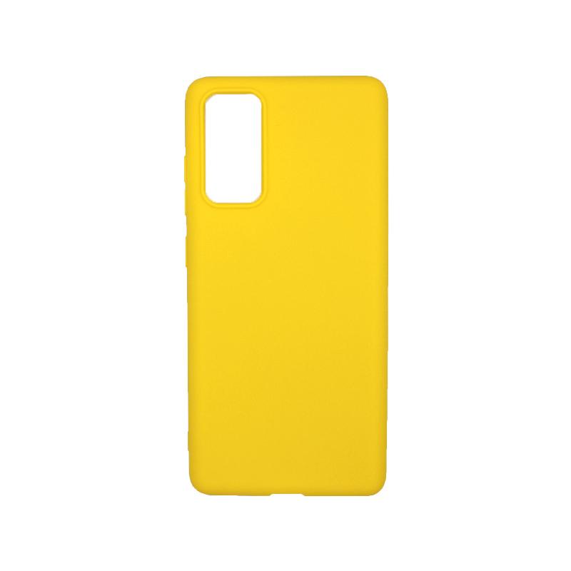 Θήκη Samsung Galaxy S20 FE Σιλικόνη - Κίτρινο
