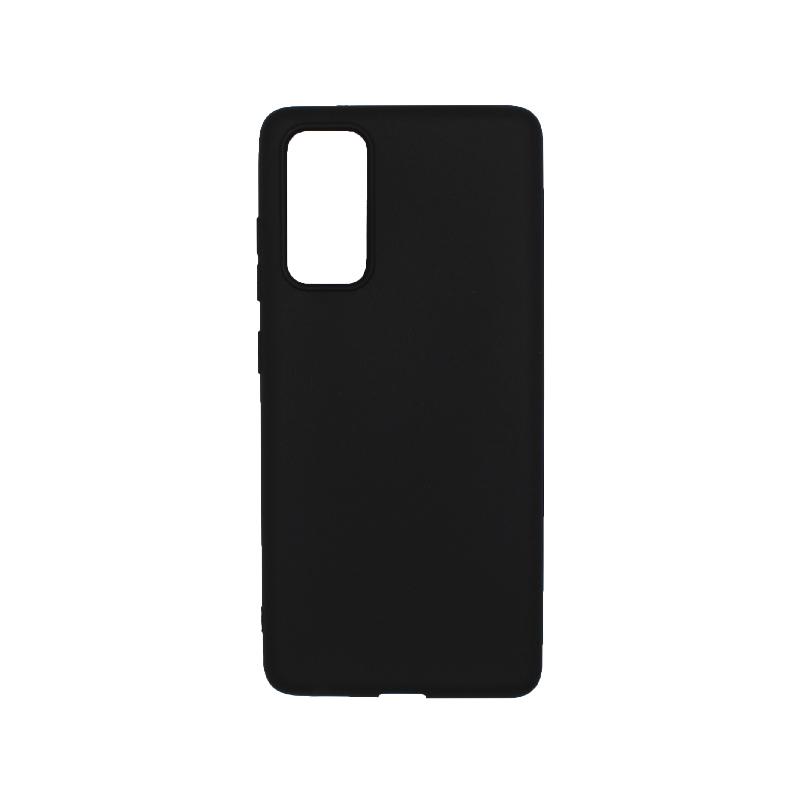Θήκη Samsung Galaxy S20 FE Σιλικόνη - Μαύρο