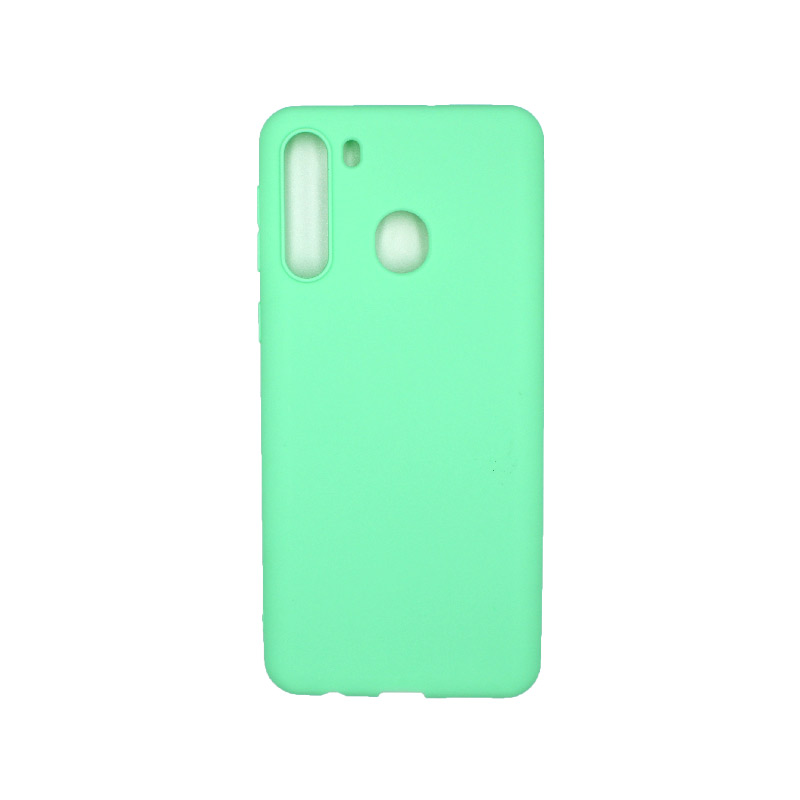 Θήκη Samsung Galaxy A21 Σιλικόνη - Πράσινο