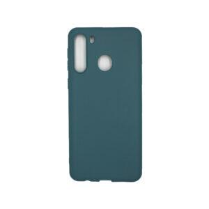 Θήκη Samsung Galaxy A21 Σιλικόνη - Πετρόλ