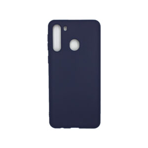 Θήκη Samsung Galaxy A21 Σιλικόνη - Σκούρο Μπλε