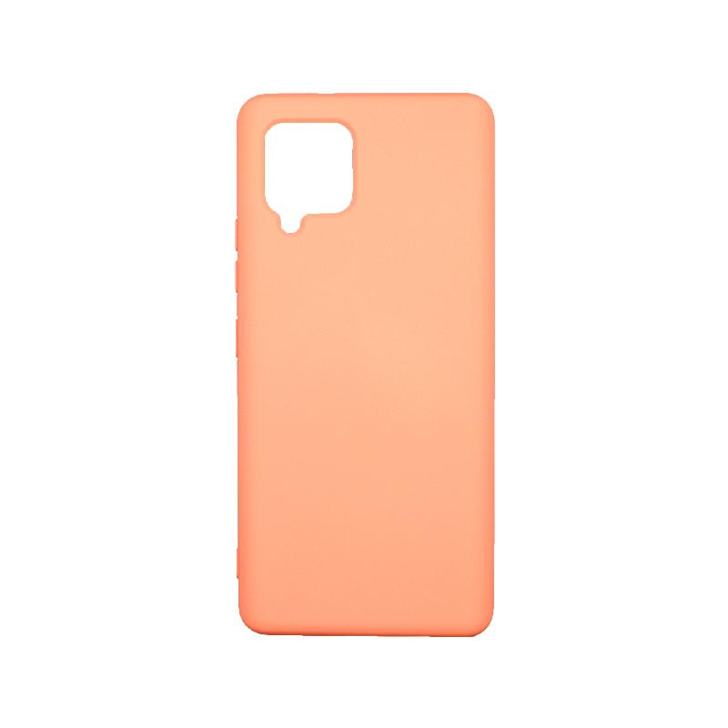 Θήκη Samsung Galaxy A42 Silky and Soft Touch Silicone - Πράσινο 1Θήκη Samsung Galaxy A42 Silky and Soft Touch Silicone - Ανοιχτό Πορτοκαλί 1