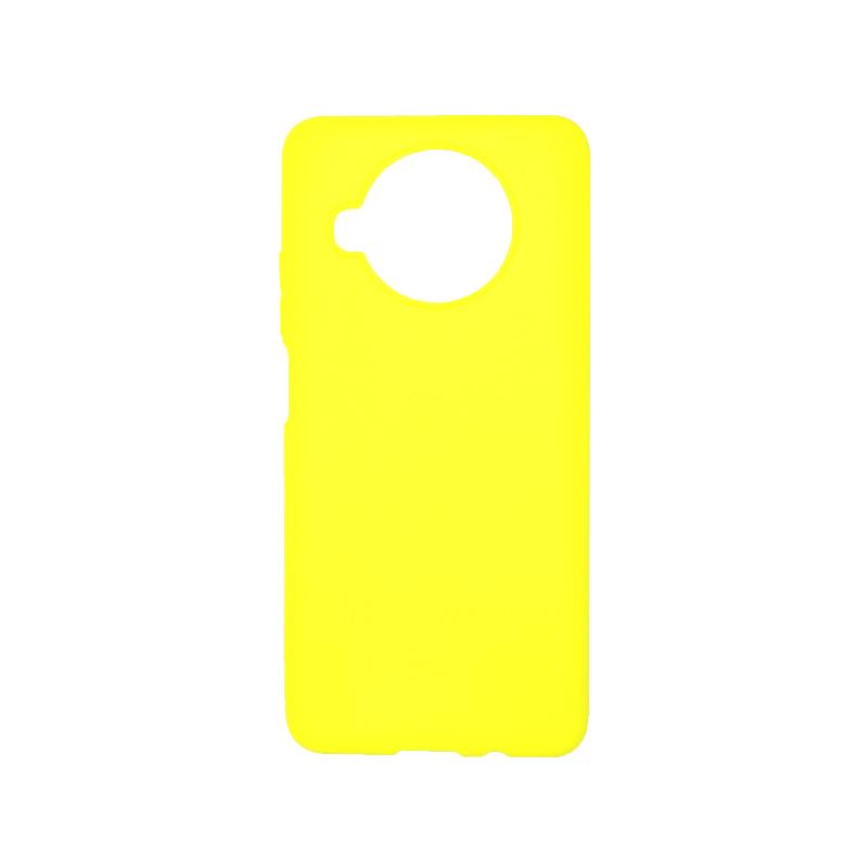 Θήκη Xiaomi Mi 10T Lite Σιλικόνη Κίτρινο