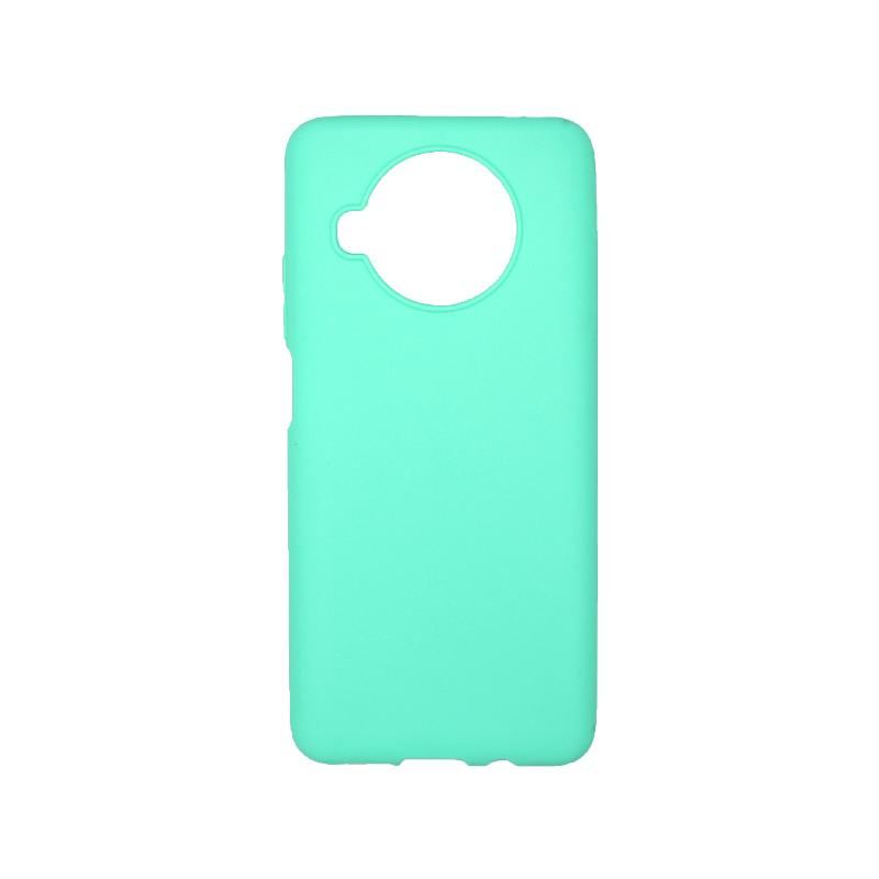 Θήκη Xiaomi Mi 10T Lite Σιλικόνη Τιρκουάζ