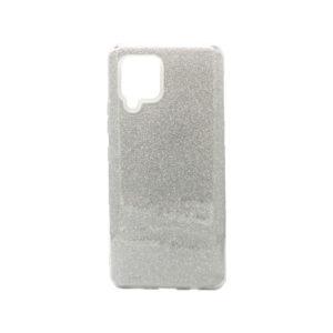 Θήκη Samsung Galaxy A42 Glitter Ασημί
