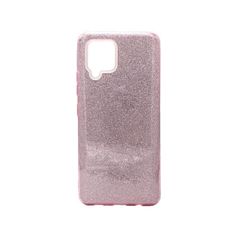 Θήκη Samsung Galaxy A42 Glitter Ροζ
