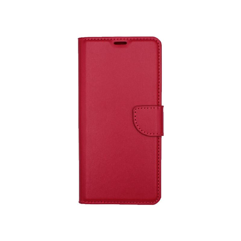 Θήκη Samsung Galaxy A21 Wallet Φούξια 1