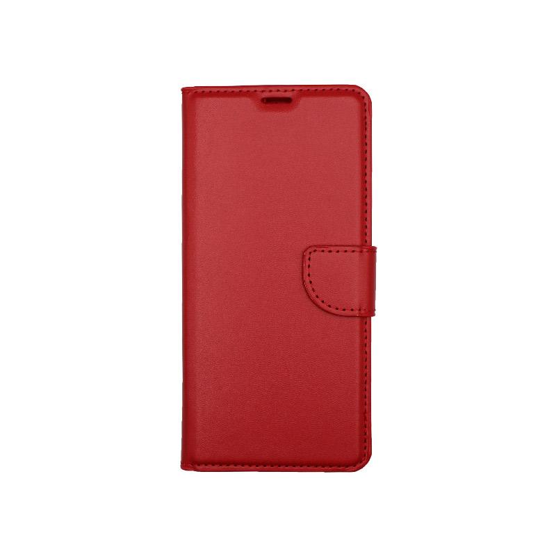 Θήκη Samsung Galaxy A21 Wallet Κόκκινο 1