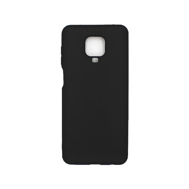 Θήκη Xiaomi Redmi Note 9S / Note 9 Pro / Note 9 Pro Max Σιλικόνη – Μαύρο