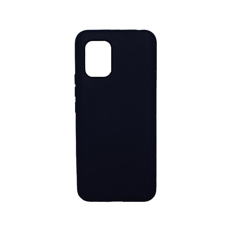 Θήκη Xiaomi Mi 10 Lite Silky and Soft Touch Silicone μπλε-1