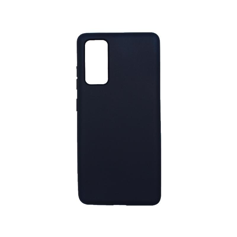 Θήκη Samsung Galaxy S20 FE Silky and Soft Touch Silicone μπλε-1