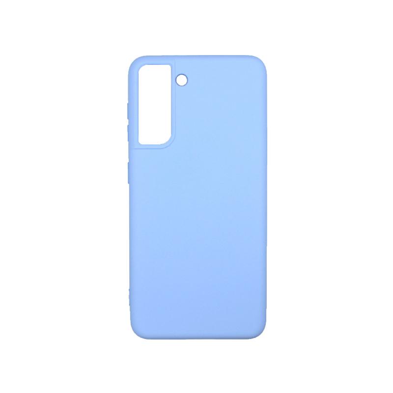 Θήκη Samsung Galaxy S21 Plus Silky and Soft Touch Silicone λιλά-1
