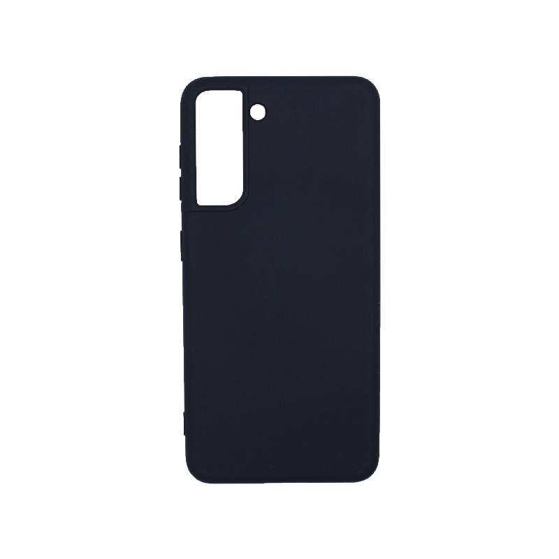 Θήκη Samsung Galaxy S21 Plus Silky and Soft Touch Silicone μπλε-1