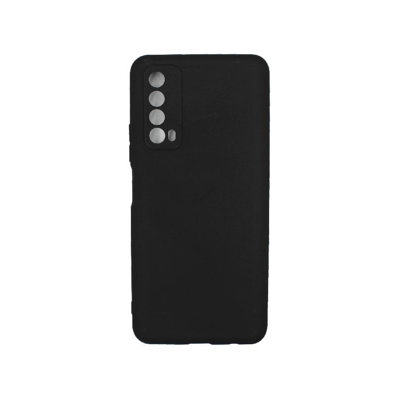Θήκη Huawei P Smart 2021 Σιλικόνη μαύρο
