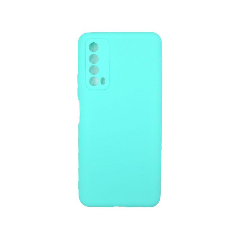 Θήκη Huawei P Smart 2021 Σιλικόνητ τιρκουάζ