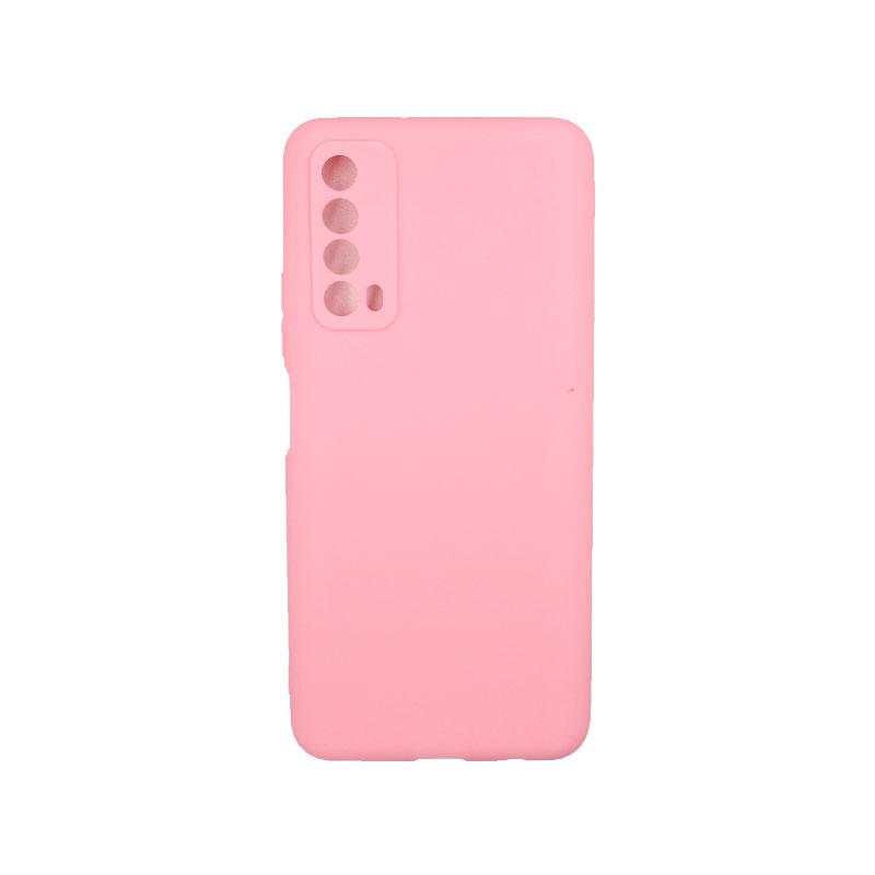 Θήκη Huawei P Smart 2021 Σιλικόνη ρόζ