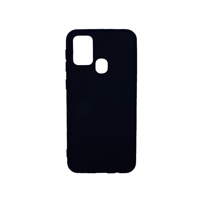 Θήκη Samsung Galaxy M31 Silky and Soft Touch Silicone μπλε-1