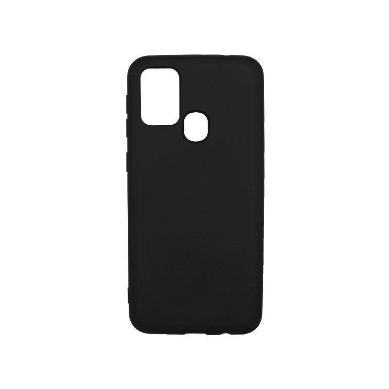 Θήκη Samsung Galaxy M31 Silky and Soft Touch Silicone μαύρο-1
