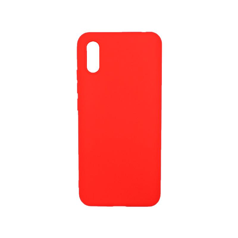 Θήκη Xiaomi Redmi 9A Σιλικόνη κόκκινο.