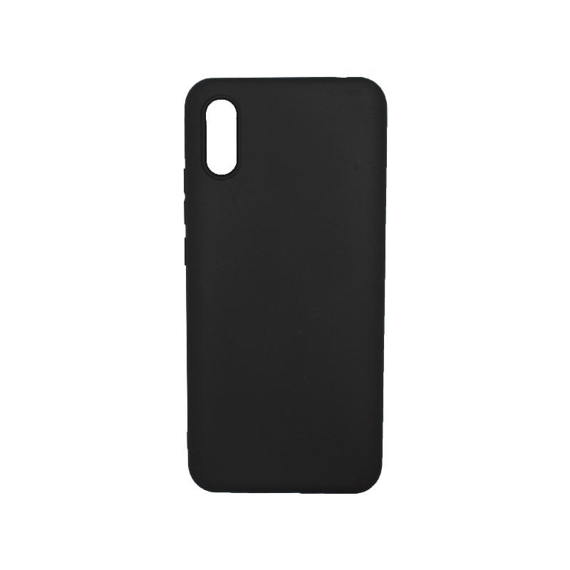 Θήκη Xiaomi Redmi 9A Σιλικόνη μαύρο.