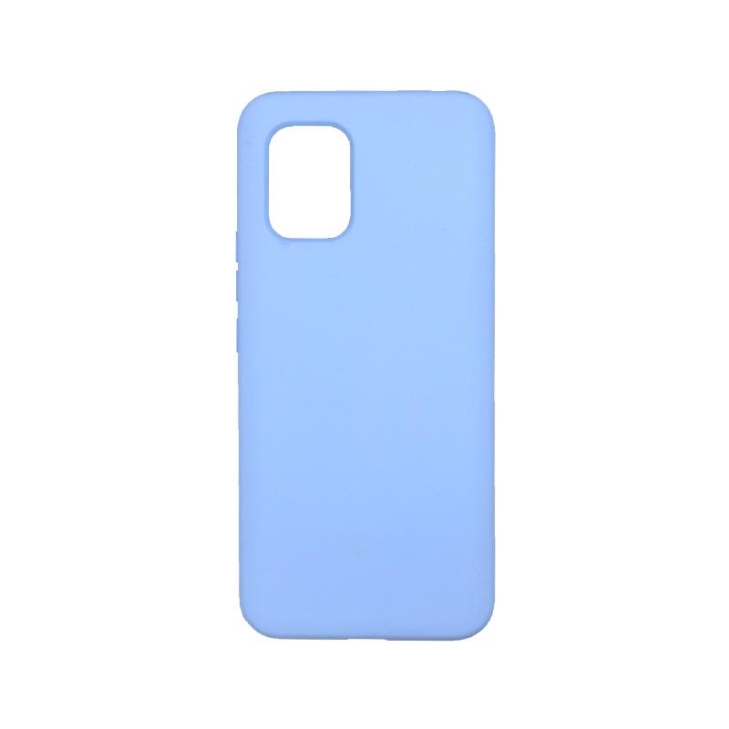 Θήκη Xiaomi Mi 10 Lite Silky and Soft Touch Silicone λιλά-1