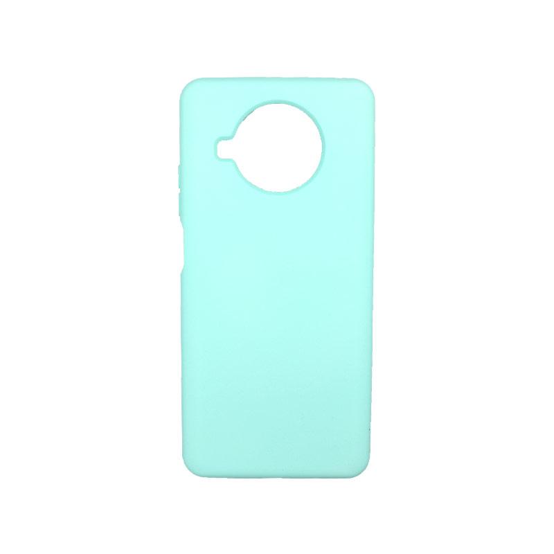 Θήκη Xiaomi Mi 10T Lite Silky and Soft Touch Silicone τιρκουάζ-1