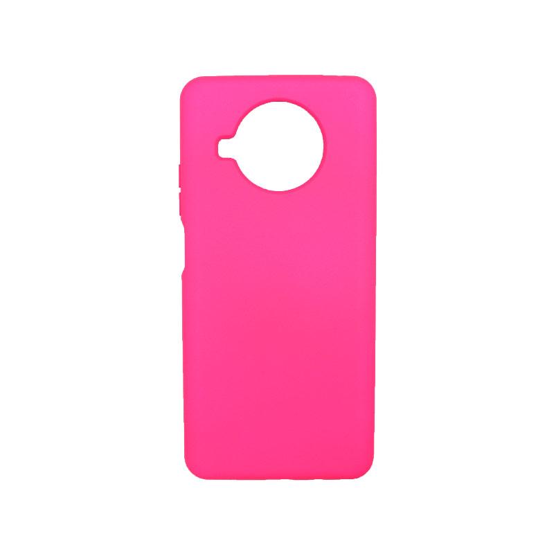 Θήκη Xiaomi Mi 10T Lite Silky and Soft Touch Silicone φούξια-1
