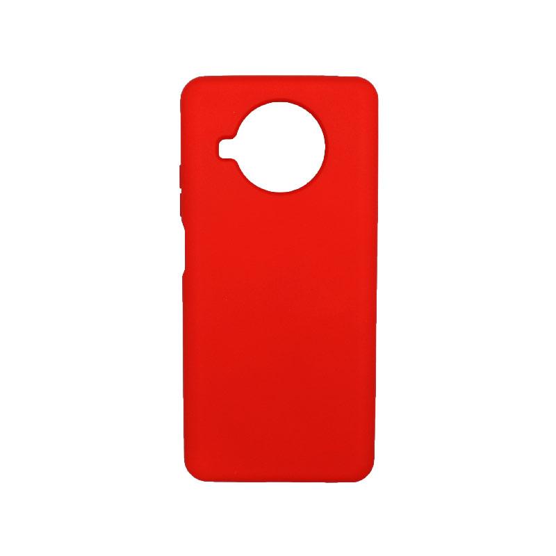 Θήκη Xiaomi Mi 10T Lite Silky and Soft Touch Silicone κόκκινο-1