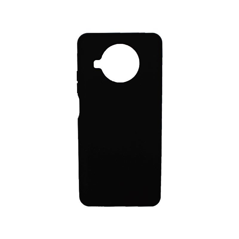 Θήκη Xiaomi Mi 10T Lite Silky and Soft Touch Silicone μαύρο-1
