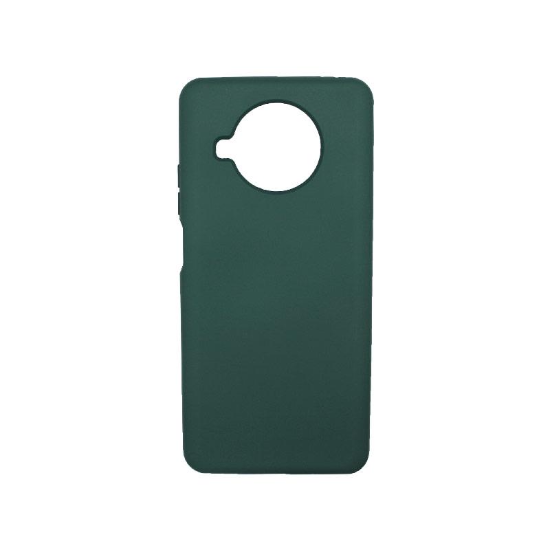 Θήκη Xiaomi Mi 10T Lite Silky and Soft Touch Silicone πράσινο-1