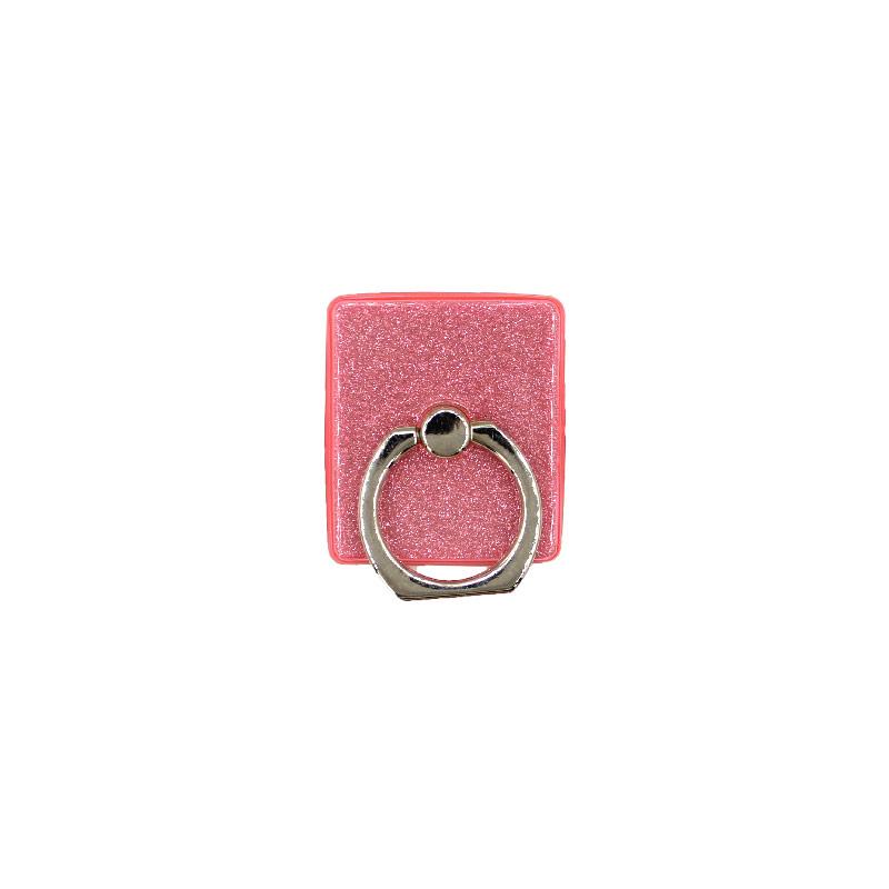 Ring Holder Glitter φουξια 1