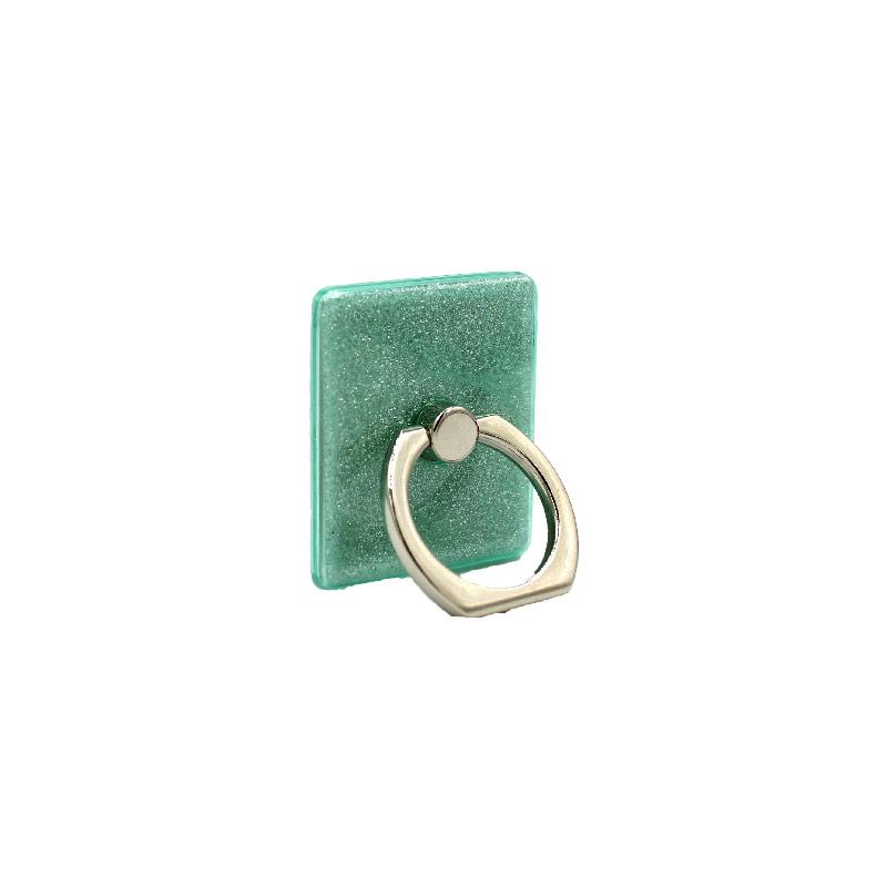Ring Holder Glitter πράσινο 2