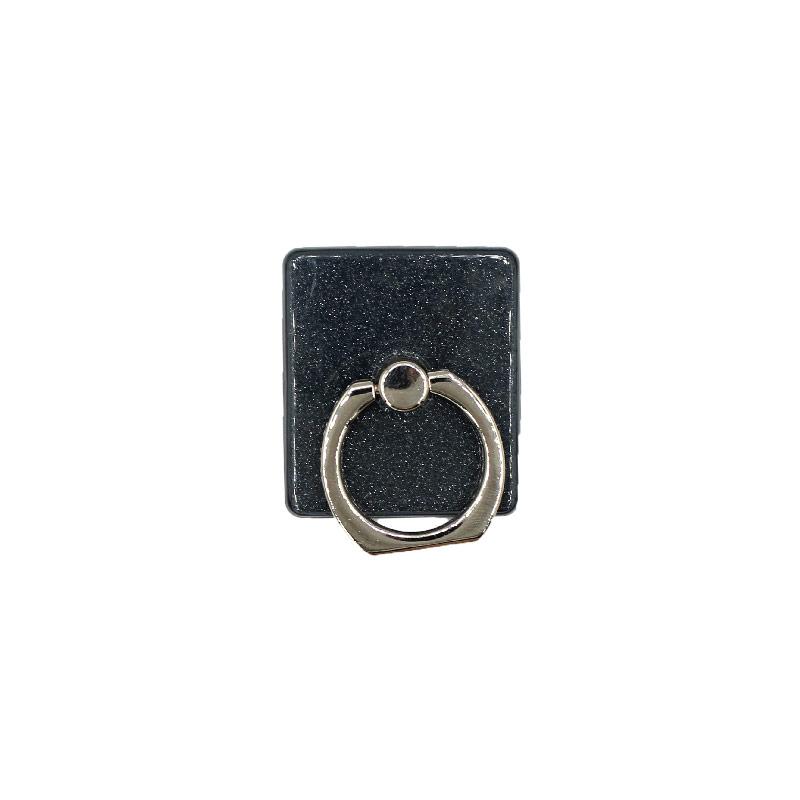 Ring Holder Glitter μαύρο 1