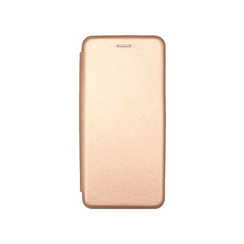 Θήκη Xiaomi Redmi 9A Book ροζ χρυσό 1
