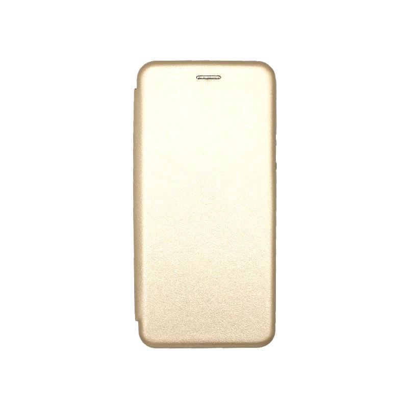 Θήκη Xiaomi Redmi 9A Book χρυσό 1