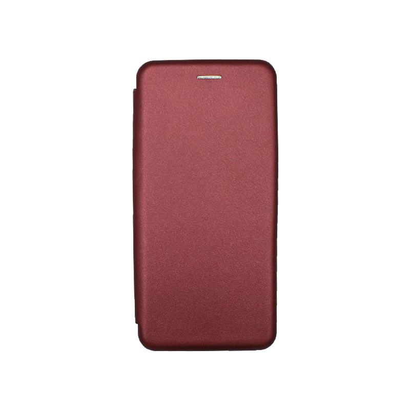 Θήκη Xiaomi Redmi 9A Book μπορντό 1