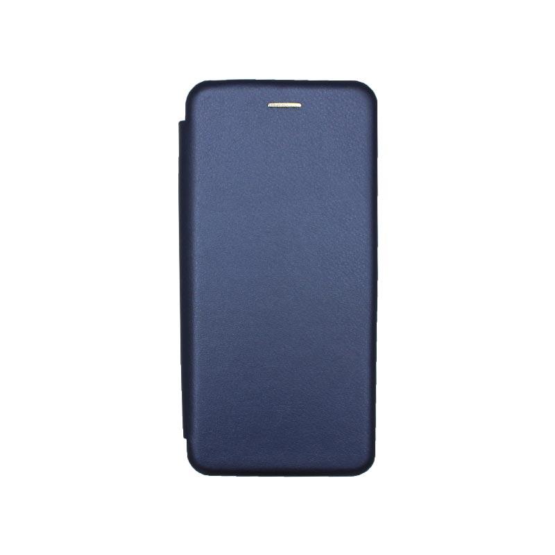 Θήκη Xiaomi Redmi 9A Book σκούρο μπλε 1