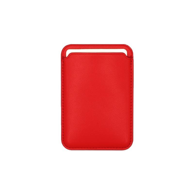 μαγνητικό card holder κόκκινο