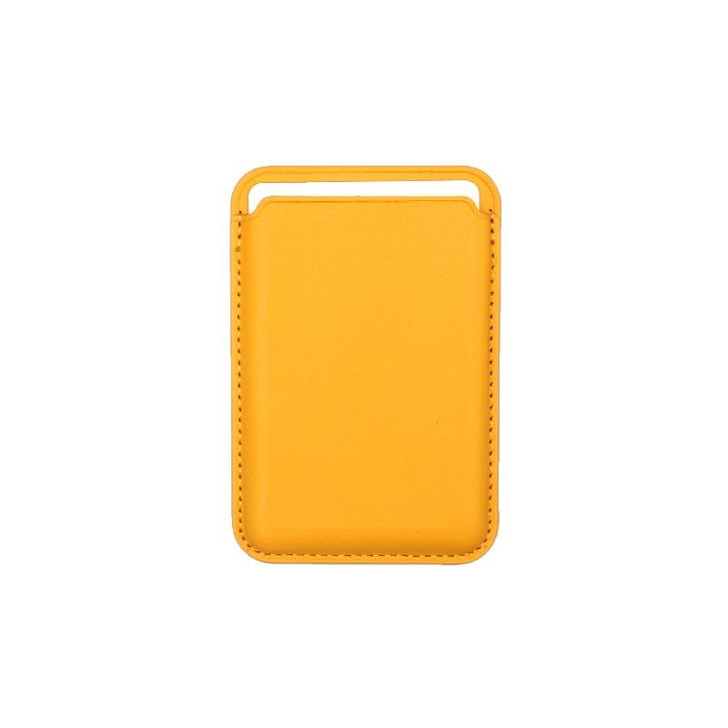 μαγνητικό card holder πορτοκαλί